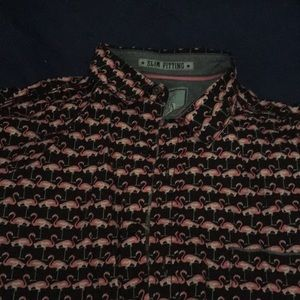 Tops - Flamingo oxford from Good Vibes by Drill